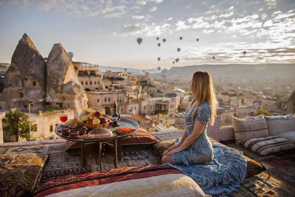 Kapadokya Yerleşimler ve Aktiviteler