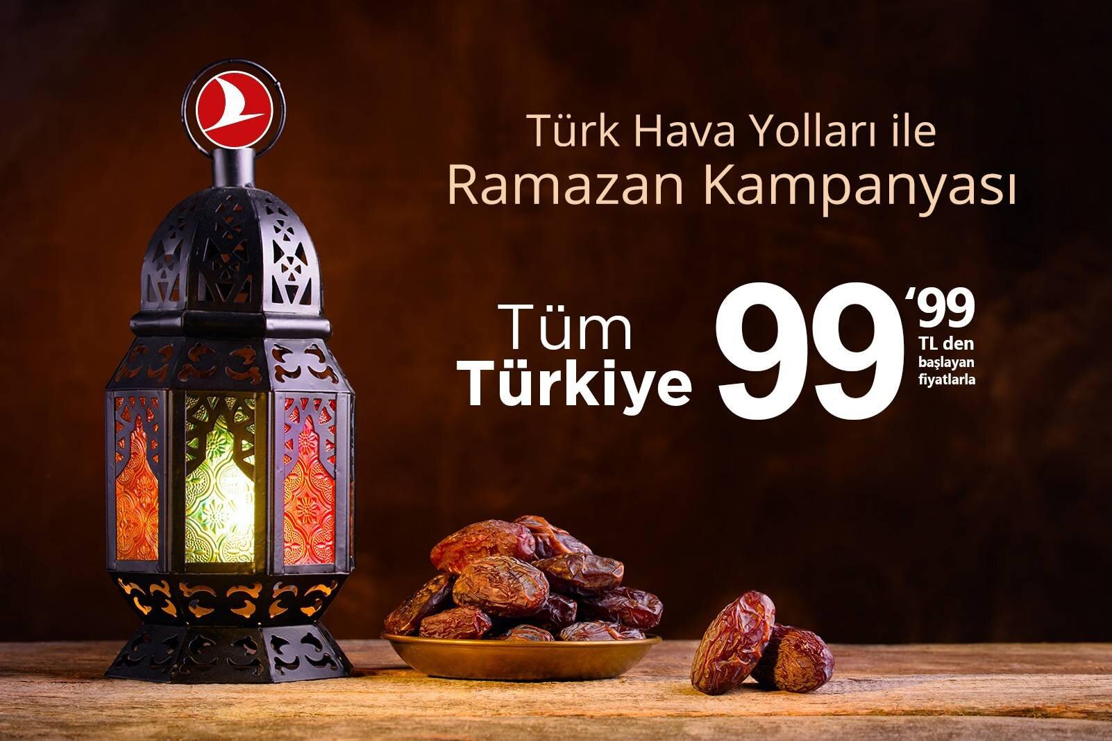 THY ile Ramazan'a Özel Fiyatlarla Uçun!