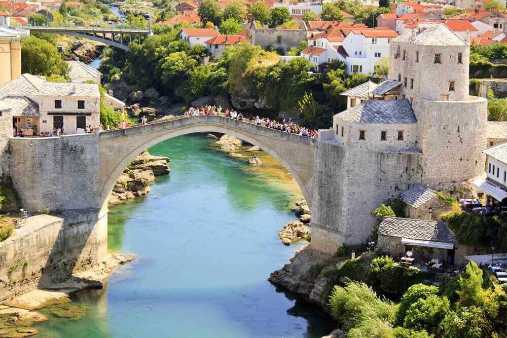 Mavi ve Yeşil Balkanlar Turu THY ile 7 Gece / 8 Gün
