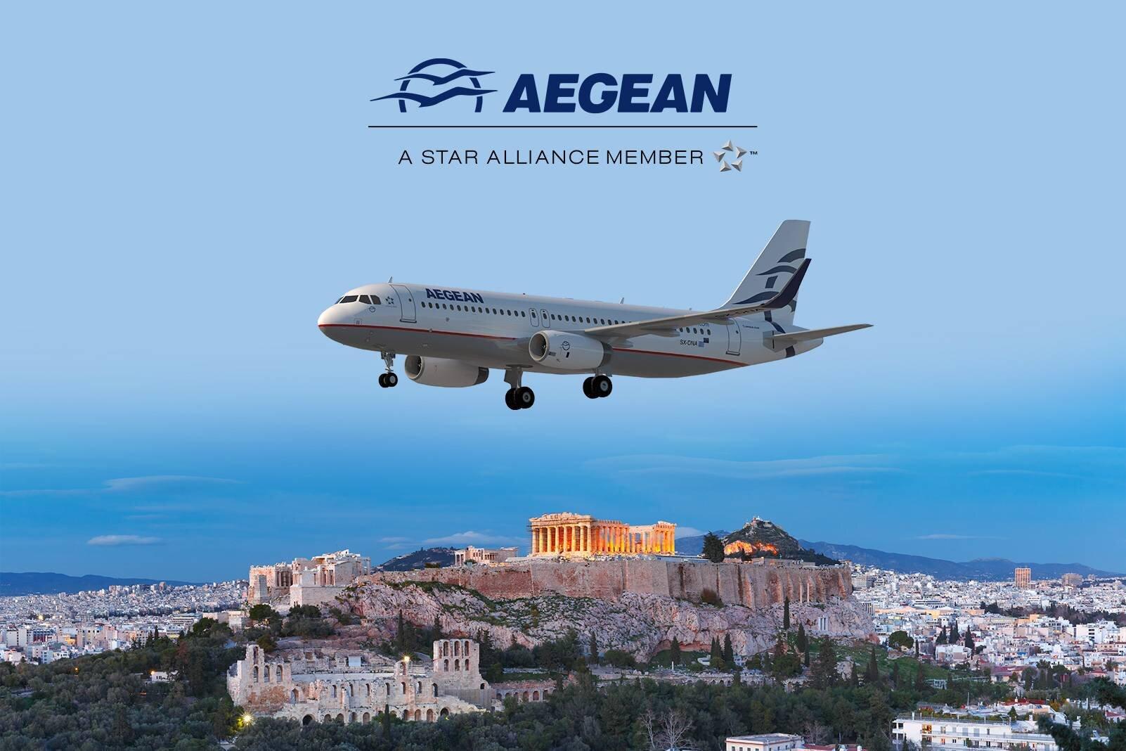 Aegean Airlines ile Atina'ya Avantajlı Fiyatlarla Uçun