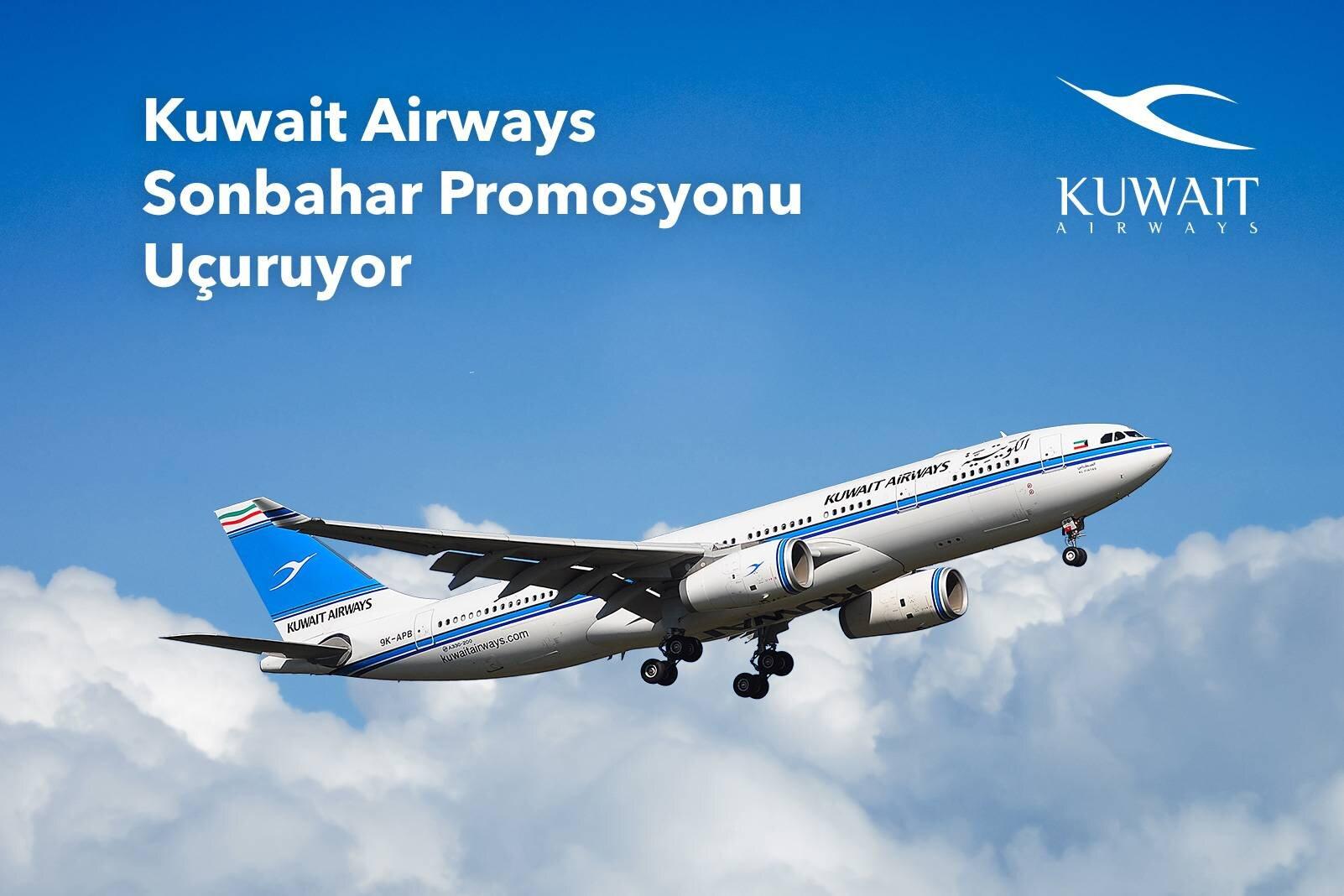 Kuveyt Hava Yolları Sonbahar İndirim Fırsatı