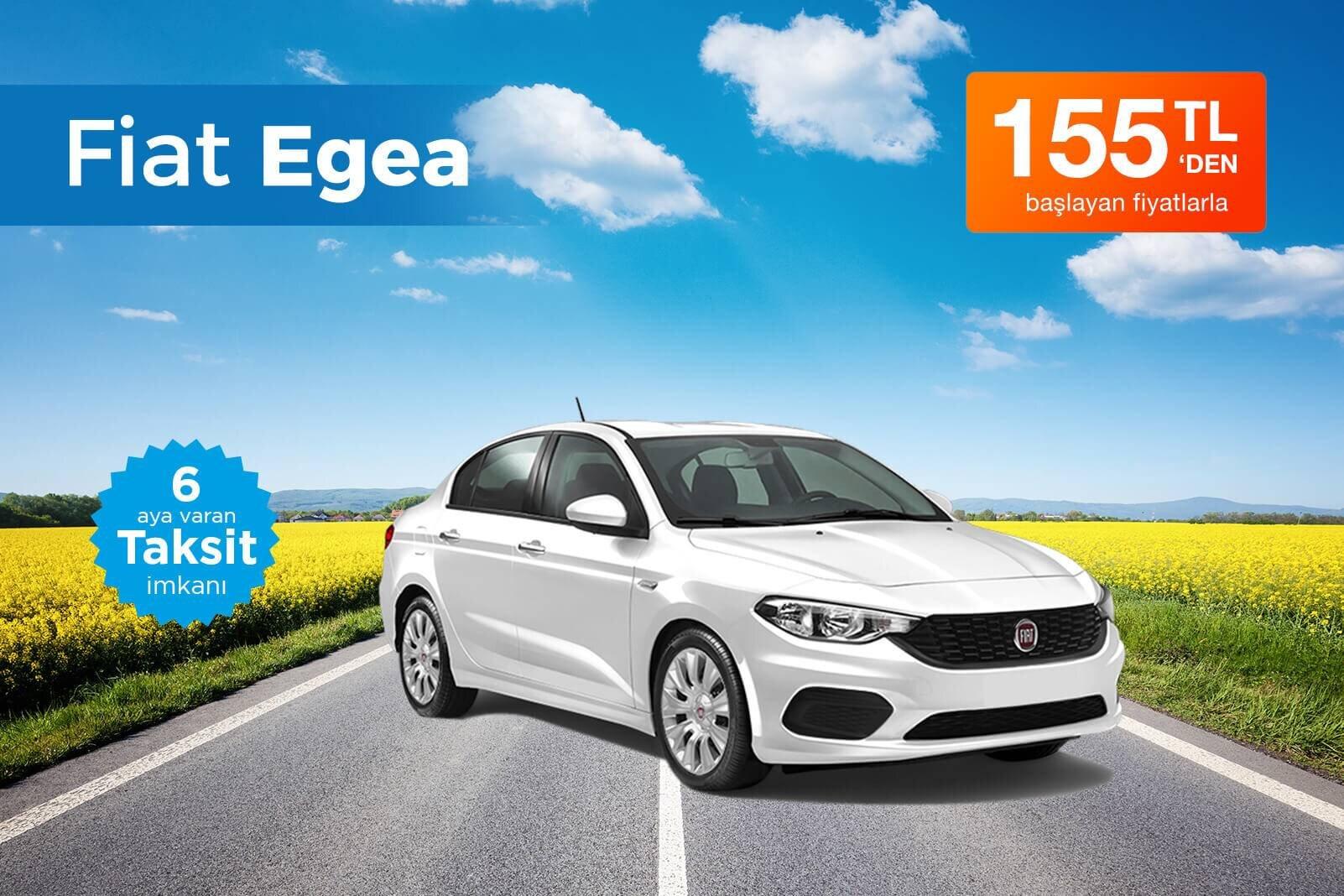 Fiat Egea Kiralama Fırsatı