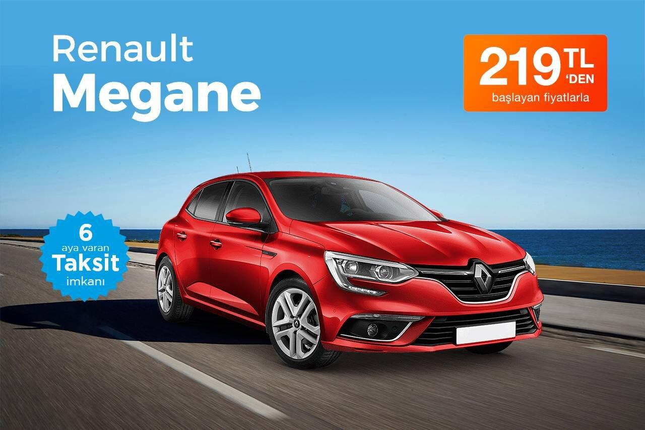 Renault Megane Kiralama Fırsatı