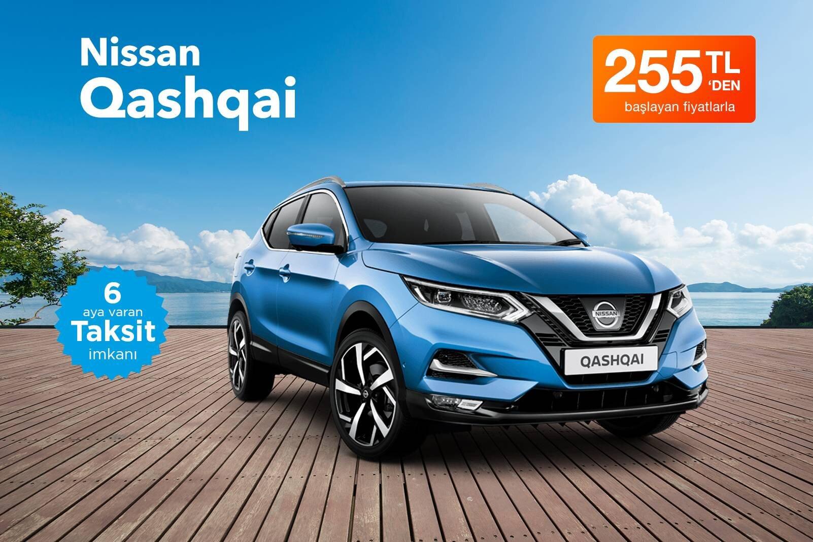 Nissan Qashqai Kiralama Fırsatı